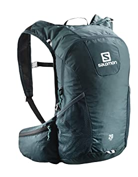 Salomon Mochila para running y senderismo 20 l, trail 20, azul (Dark Blue y Ice Blue): Amazon.es: Deportes y aire libre