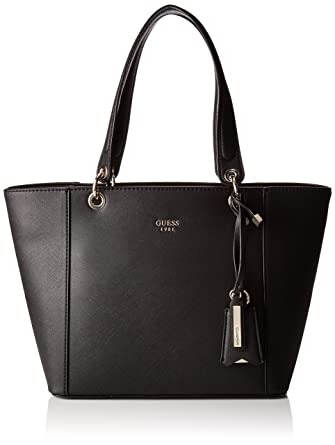 60ad4c013 Amazon.com: GUESS Kamryn Tote, Black,One size: Clothing