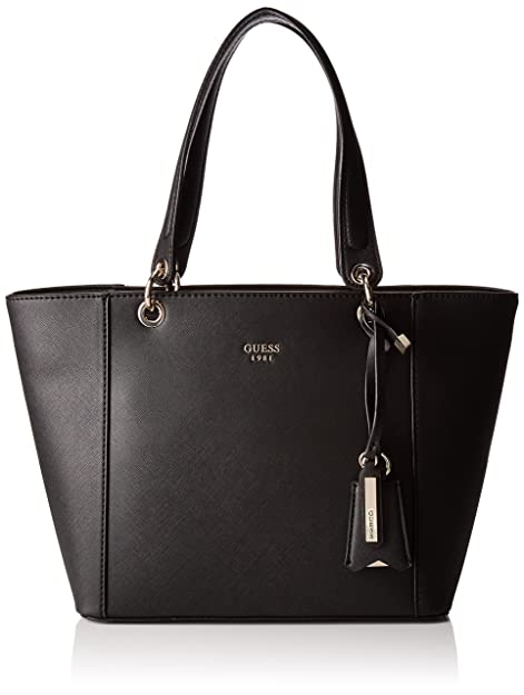 Guess bolsos Shoppers Negro Mujer hombro Nero y de Hwvg6691230 1q1RxwnrOB