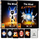 Party Games The Mind Board Game Bundle with The Mind Extreme Card Games and Random Drawstring Bag Color