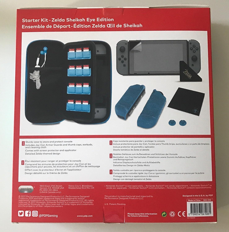 Amazon.com: Nintendo Switch Zelda Sheikah Eye Edition Starter Kit: Video Games