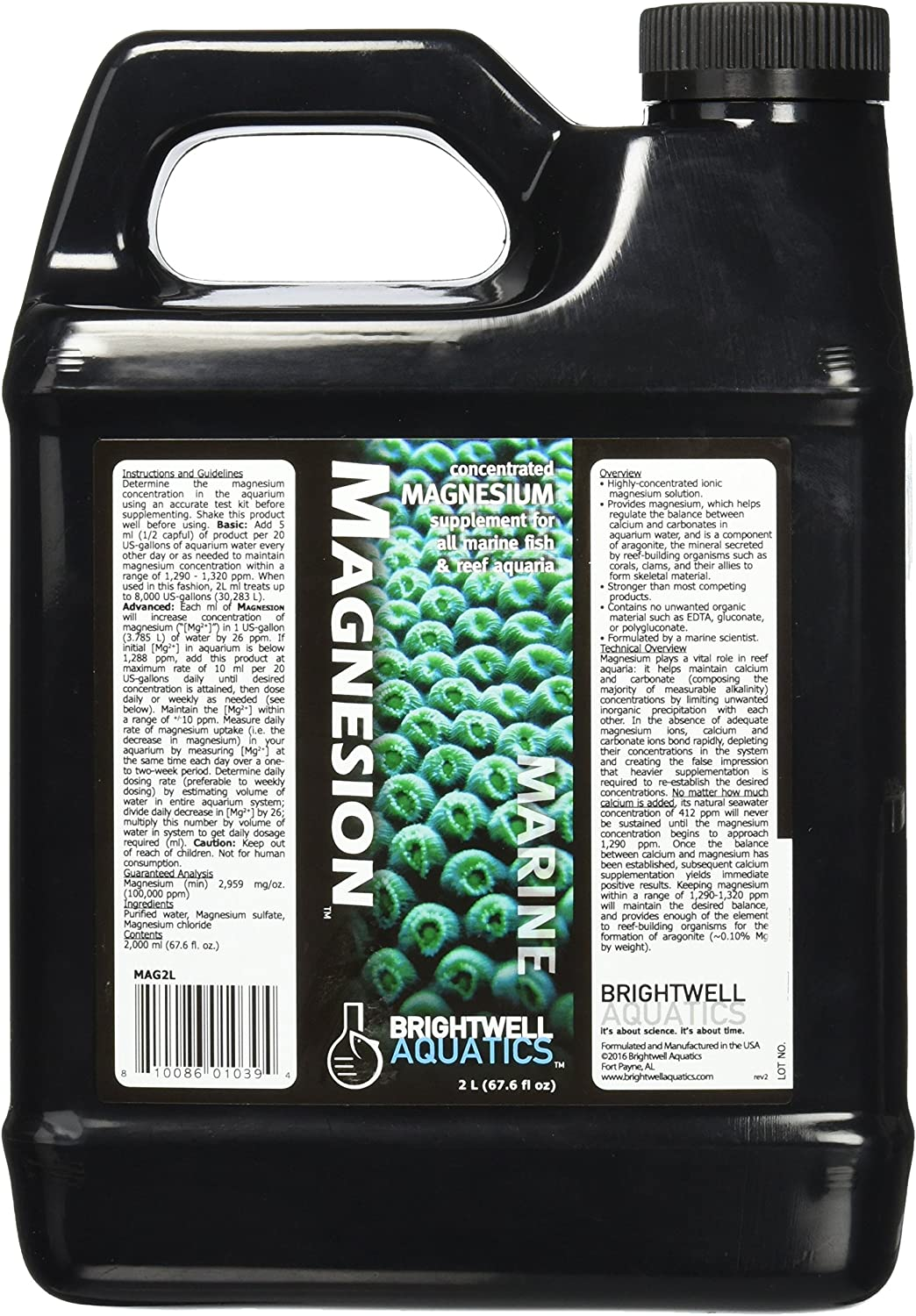 Brightwell Aquatics Magnesion - Concentrated Magnesium Supplement for Reef