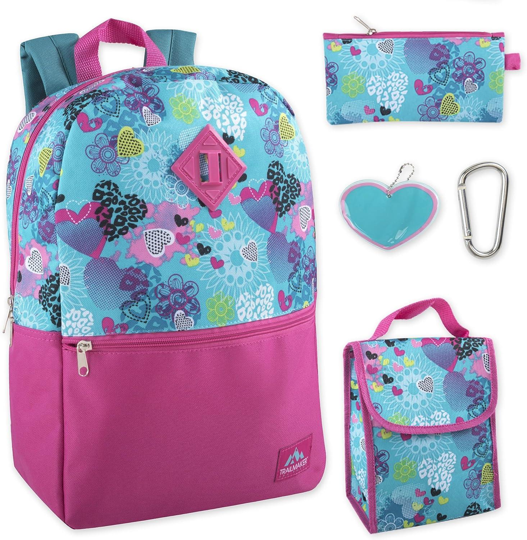 High Trails Or Trail Maker Kids Girls Backpack Book Bag /& Pencil Case NWT
