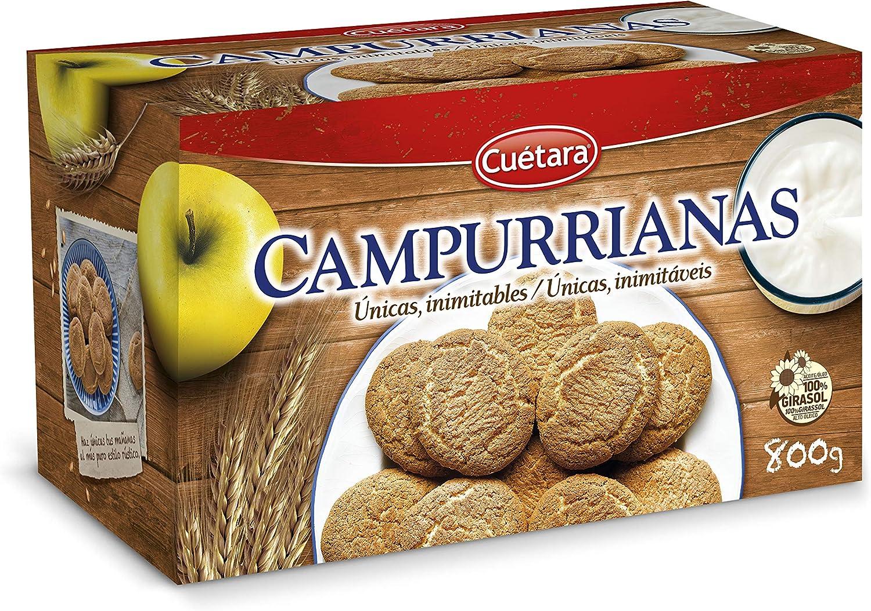 CAMPURRIANAS - Cuetara Galletas Caja 800 Grs: Amazon.es ...