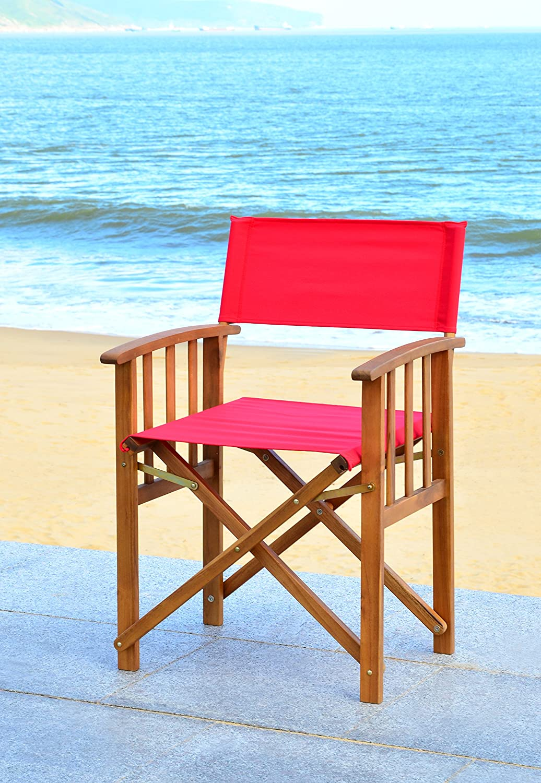 Amazon.com: Safavieh Outdoor Living Collection Laguna Sillas ...