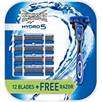 Wilkinson - Hydro 5 - Rasoir + 12 lames de rechange