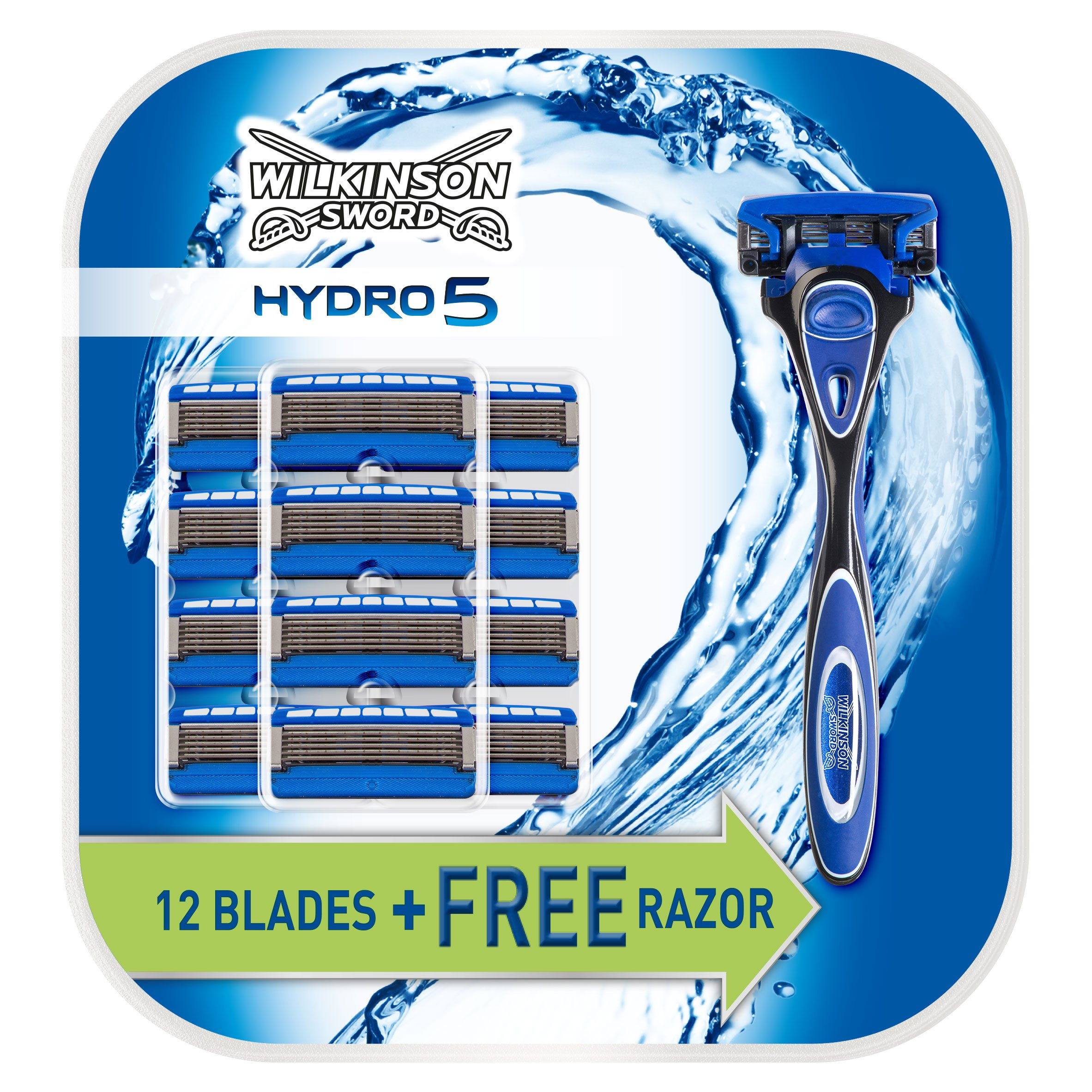 Wilkinson Sword Hydro 5 Razor with 13 Blade Refills product image