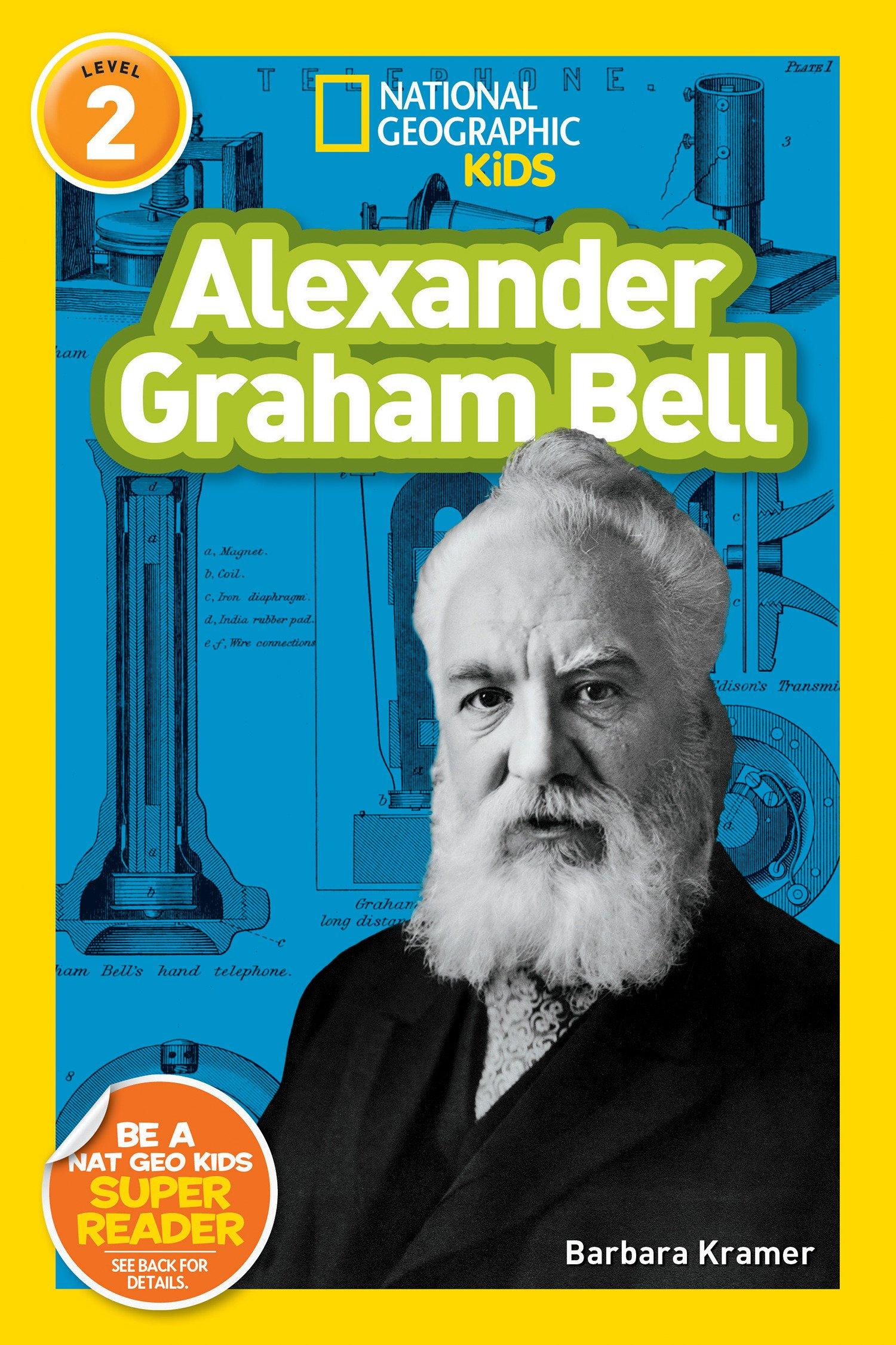 Amazon.com: National Geographic Readers: Alexander Graham Bell ...
