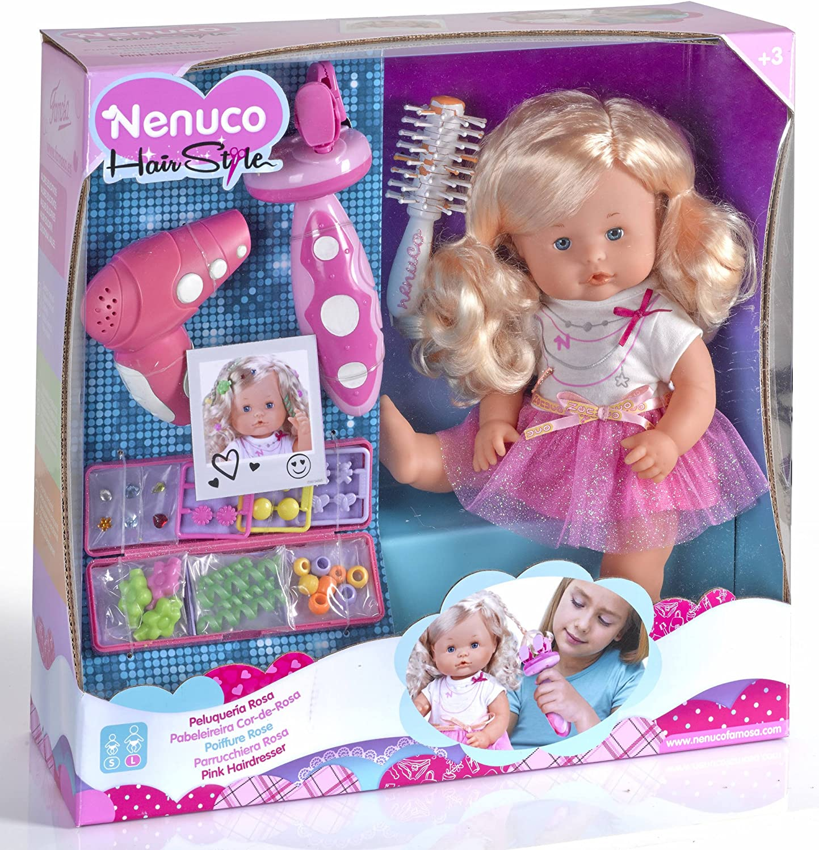 Nenuco Famosa 700012385 - Bambola Parrucchiera: Amazon.it: Giochi