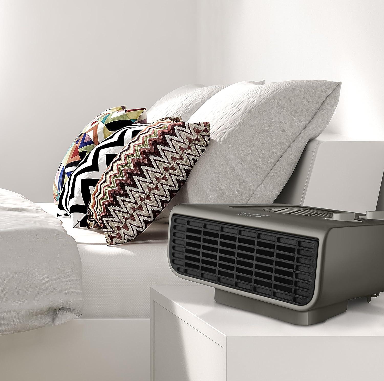 Taurus Tropicano Java 2100 IP-Calefactor 2000 W, termostato, piloto Luminoso Color Gris