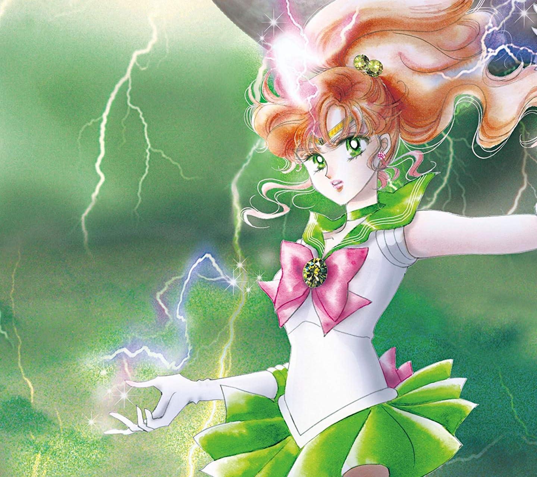 美少女戦士セーラームーン 木星を守護に持つ雷と保護(勇気)の戦士セーラージュピター HD(1440×1280)スマホ 壁紙・待ち受け