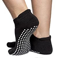 Skyba Non Slip Anti Skid Socks- Grips for Yoga, Pilates, Barre, Ballet & Maternity [4 Sizes]