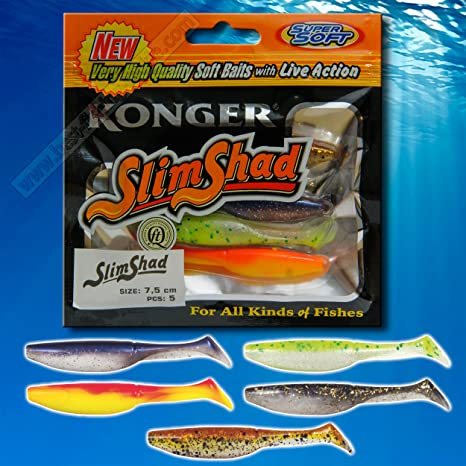 perch and zander kopyto soft lures for pike Drop shot lures with jig heads