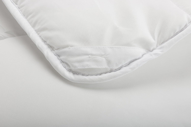 Pikolin Home - Relleno nórdico, edredón hipoalergénico de Fibra antiácaros, otoño-Invierno, 300 gr/m², Cama 135/140-220 x 220 cm (Todas Las Medidas): ...