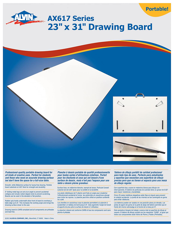 Alvin Series Drawing Board 18 x 24