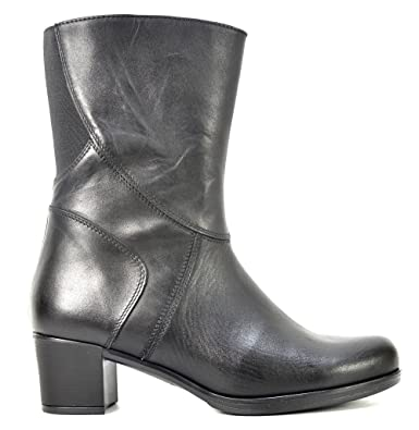 Ogswideshoes Sabrina Col Tacco Leather Boots Extra Wide C Width 3e Width