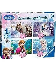 Ravensburger Disney Frozen 4 in Box (12, 16, 20, 24pc) Jigsaw Puzzles