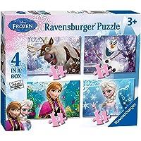 Disney Frozen - Puzzle 4 en la Caja (Ravensburger 7360)
