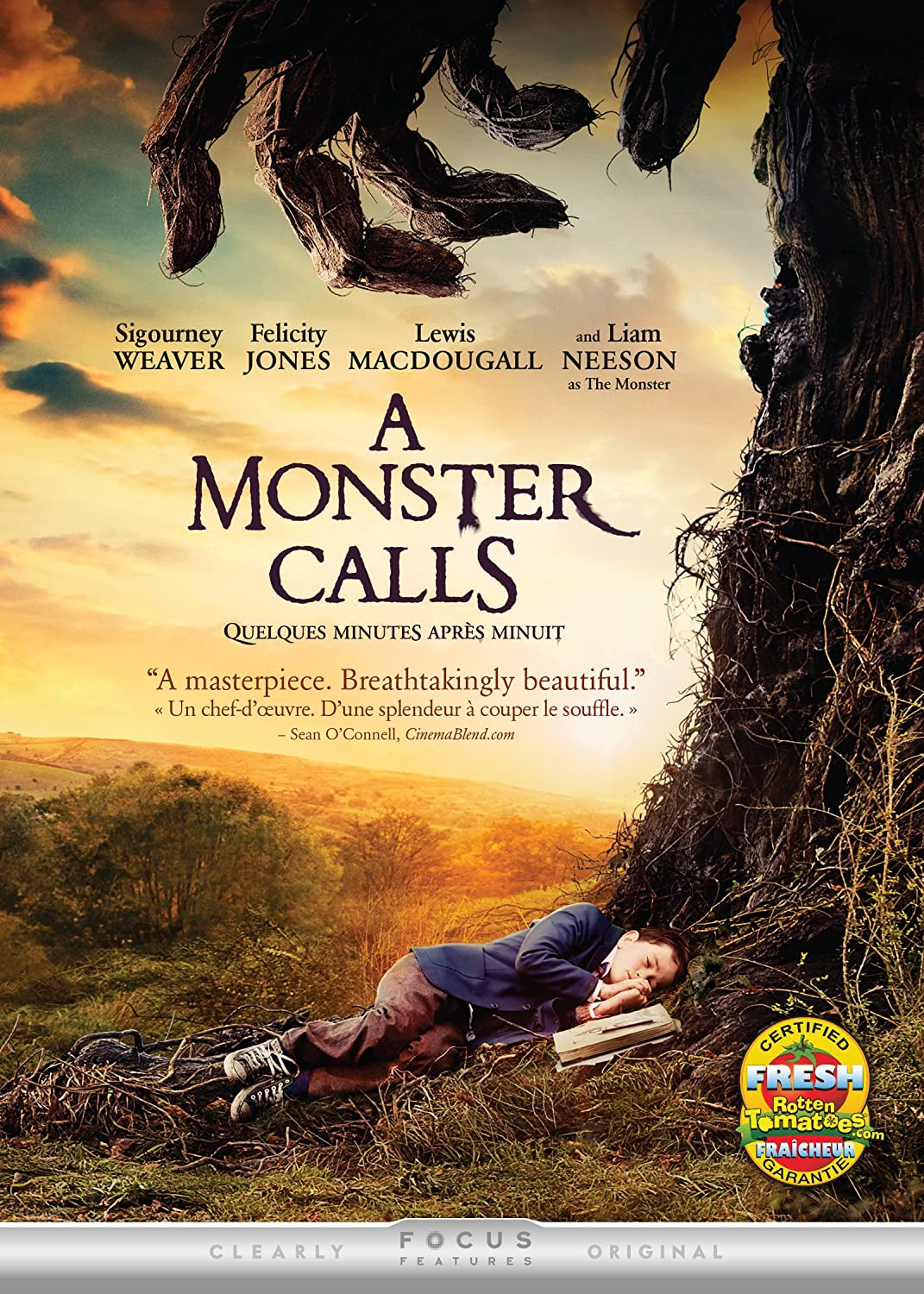 Amazon.com: A Monster Calls: Felicity Jones, Liam Neeson, Lewis ...