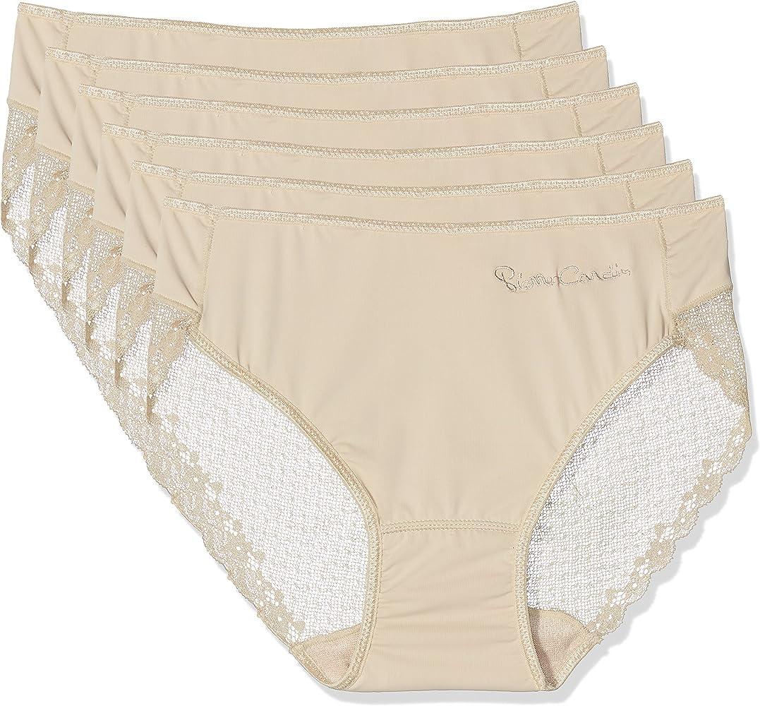 Pierre Cardin 4401, Bragas Para Mujer, Beige (Nude), M, Pack de 6: Amazon.es: Ropa y accesorios