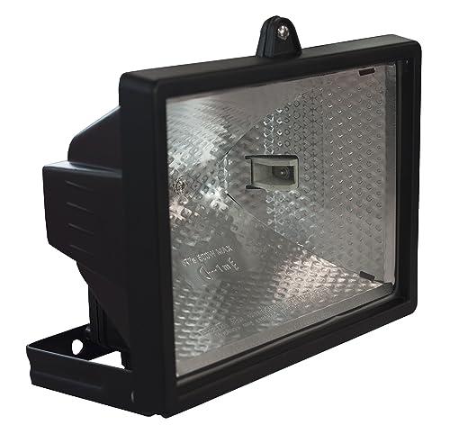 Smartwares Halogen Floodlight, Black