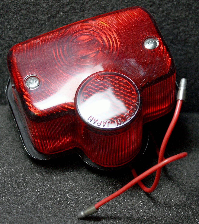MJK Yamaha FJR 1300 6V Tail Light Tail Lamp Assembly MC416-6V Superior Dixie Distributing