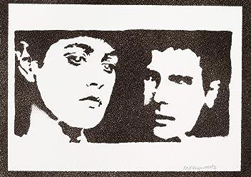 moreno-mata Blade Runner Rachael E Rick Handmade Street Art - Artwork - Poster