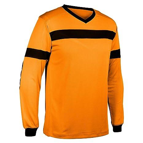4034090cf CHAMPRO Keeper Soccer Goalie Jersey - Neon/Blaze Orange - Youth, Neon  Orange,