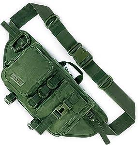 Fitdom Tactical Sling Bag