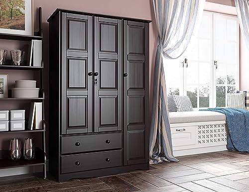 100 Solid Wood Grand Wardrobe Armoire Closet