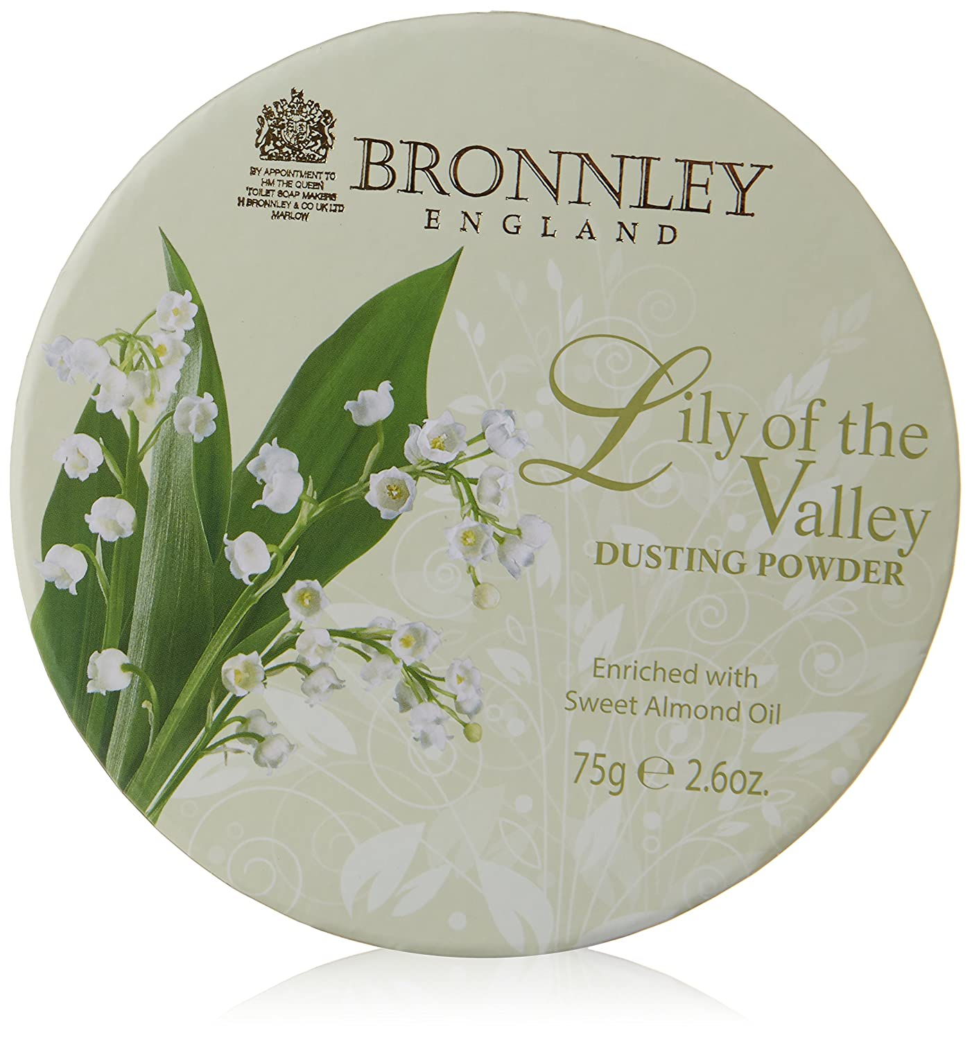 Bronnley Lily of The Valley Dusting Powder 75g H. Bronnley & Co. UK Ltd 112034