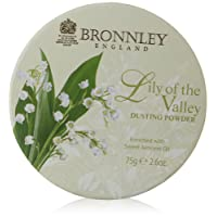 Bronnley, Lily of The Valley, Talco in polvere, 75 g