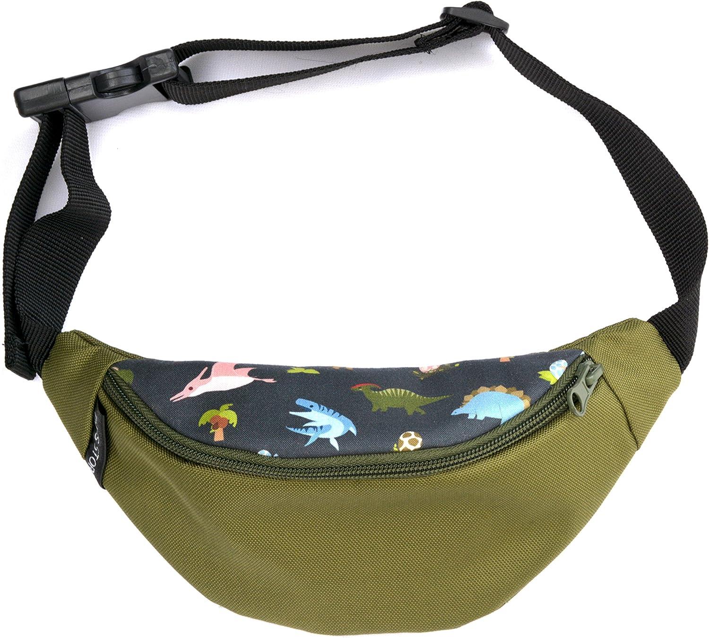 Kinderbauchtasche robust mit 2 Fächer Gürteltasche Hüfttasche ab