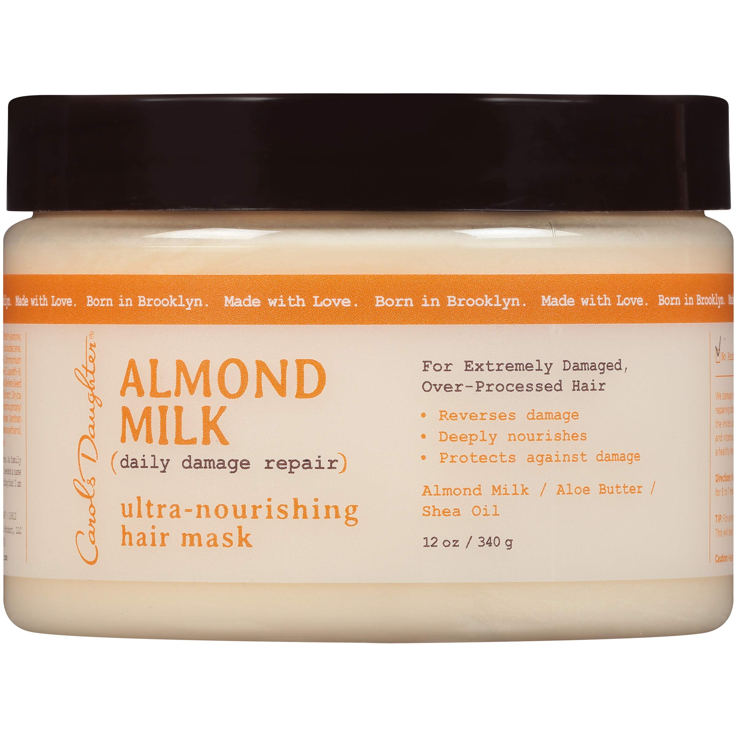 Carol's Daughter Almond Milk Ultra Nourishing Mask, 12 fl oz