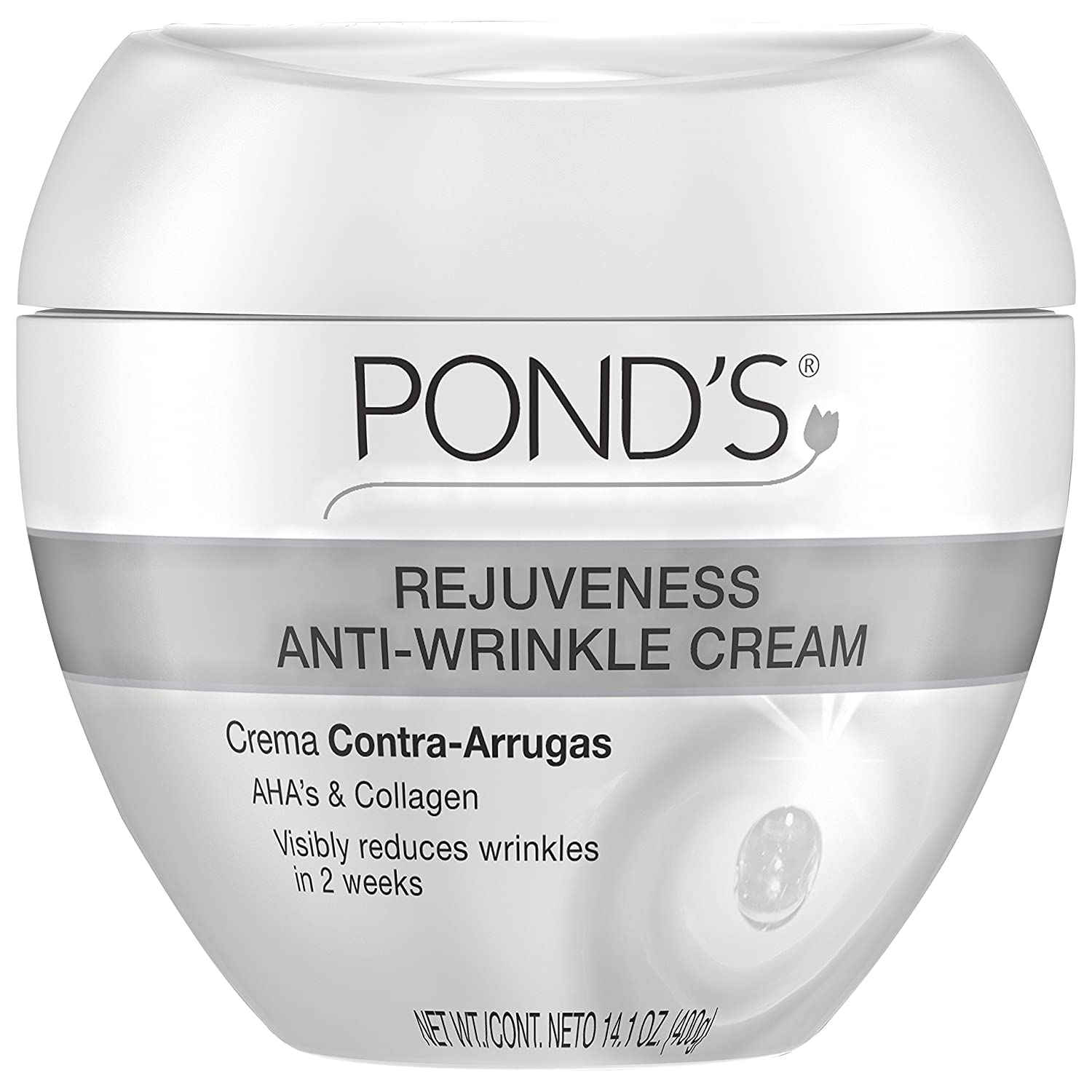 Pond's Anti-Wrinkle Cream, Rejuveness 14.1 oz Pond' s Anti-Wrinkle Cream Unilever / Best Foods 10305210172118