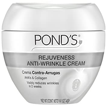 Ponds Rejuveness Anti Wrinkle Cream, 14.1 oz InstaNatural, Vitamin C Skin Trio, 30- Day Starter Kit, 3 Piece Kit(pack of 3)