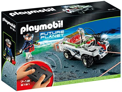 PLAYMOBIL Explorer Quad with IR Knockout Cannon Sonstige