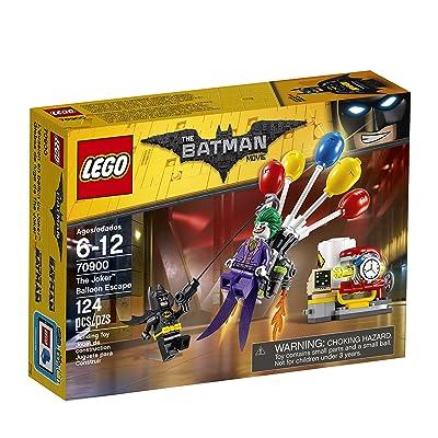 THE LEGO BATMAN MOVIE The Joker Balloon Escape 70900 Batman Toy: Toys & Games