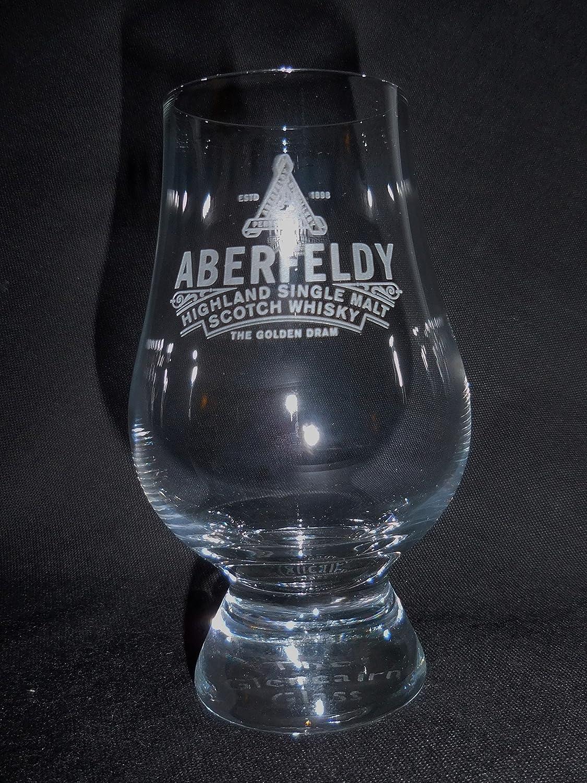ABERFELDY DISTILLERY GLENCAIRN SINGLE MALT SCOTCH WHISKY TASTING GLASS