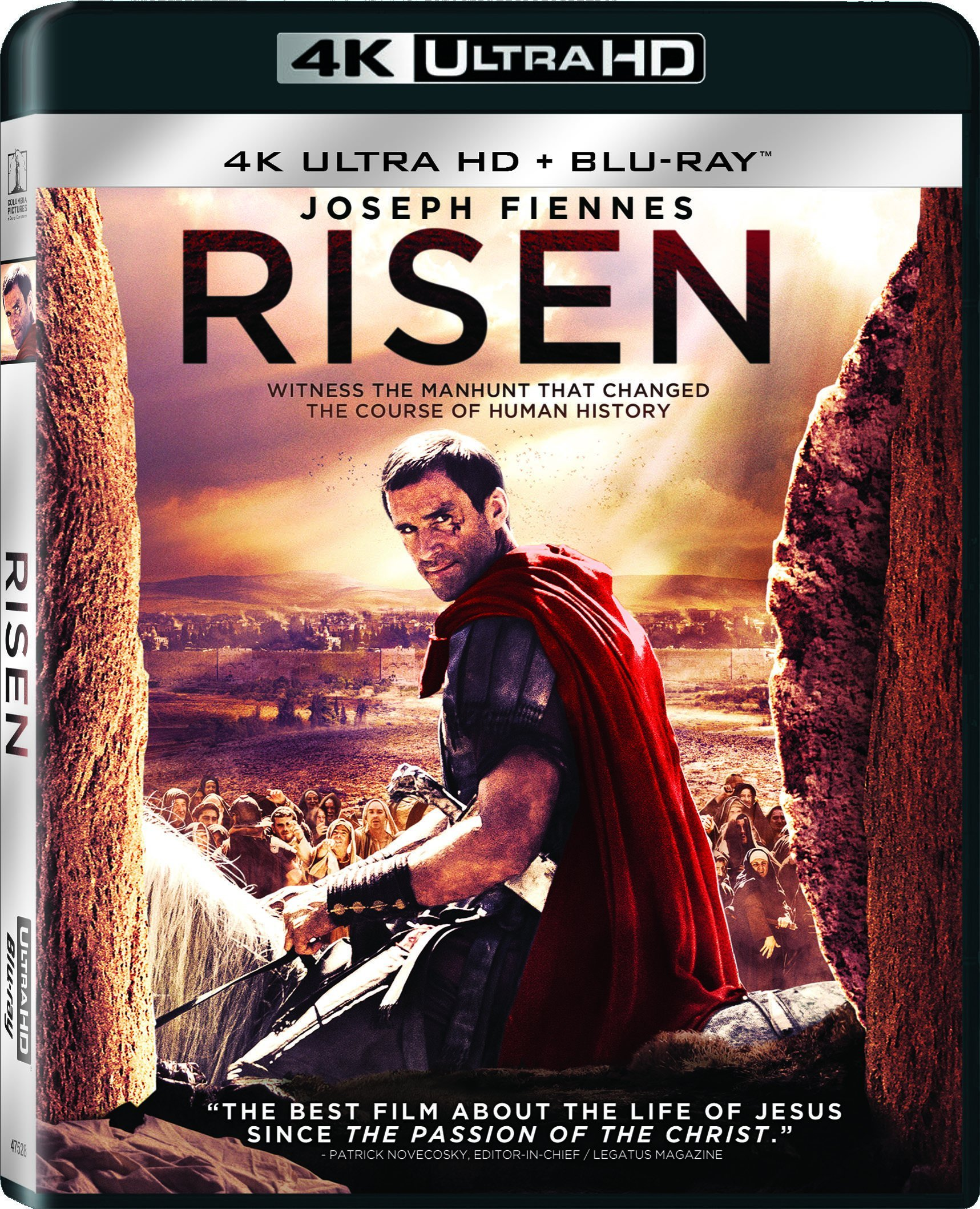 4K Blu-ray : Risen (Ultraviolet Digital Copy, Widescreen, Dolby, AC-3, Dubbed)
