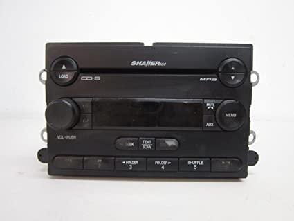 07 08 09 FORD Mustang Shaker 500 Radio Stereo 6 Disc Changer MP3 CD Player OEM