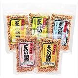 水戸名産 どらい納豆 味くらべ5種セット (計400g)