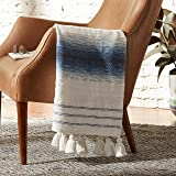 Amazon Brand – Rivet Contemporary Western-Style Throw Blanket - 60 x 50, Multicolored