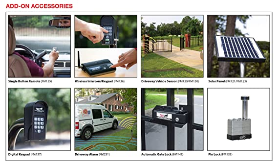 amazon com mighty mule wireless driveway alarm fm231 gto home