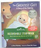 """Hallmark """"The Greatest Gift: A Story of the Nativity"""" Recordable Storybook"""