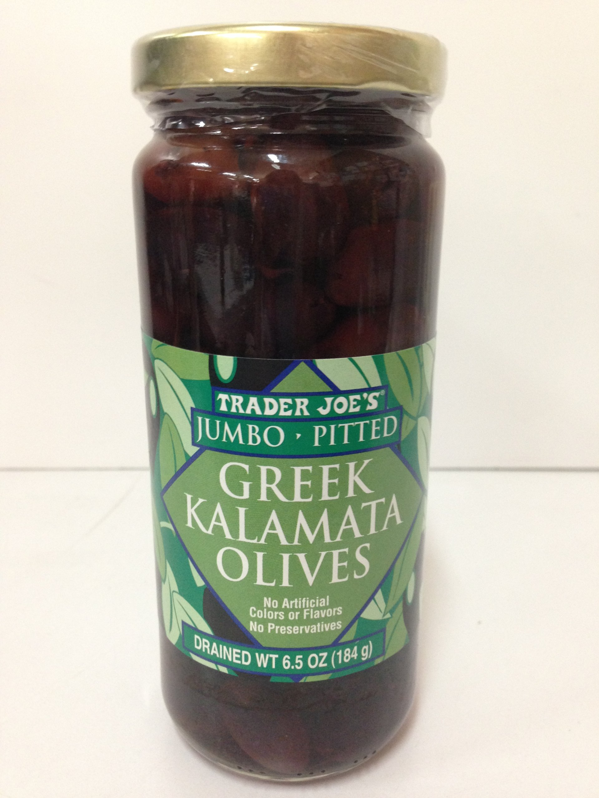Trader Joe's Jumbo - Pitted Greek Kalamata Olives