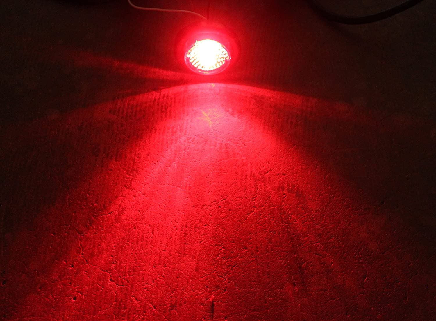 8 RED 8 AMBER LED 2 Round Clearance//Side Marker Light Kits with Light and Grommet Truck Trailer RV 15103 Set of 16