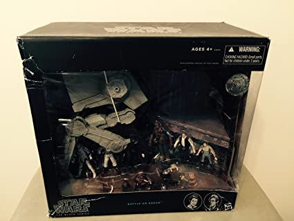 Amazon.com: Star Wars The Black Series Batalla en Endor Pack ...
