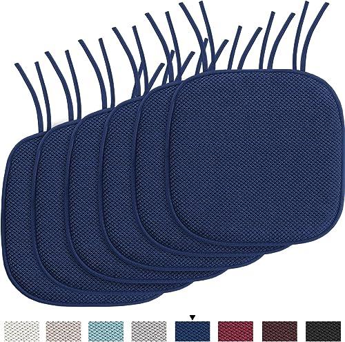 H.VERSAILTEX Chair Cushion Memory Foam Chair Pad