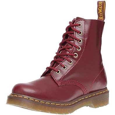 Dr. Martens Pascal, Boots femme - Rouge (Shiraz Buttero), 36 EU 86fe12129a6b